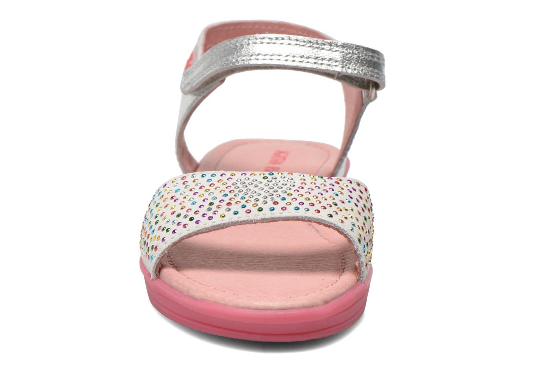 Sandales et nu-pieds Agatha Ruiz de la Prada Diva Argent vue portées chaussures