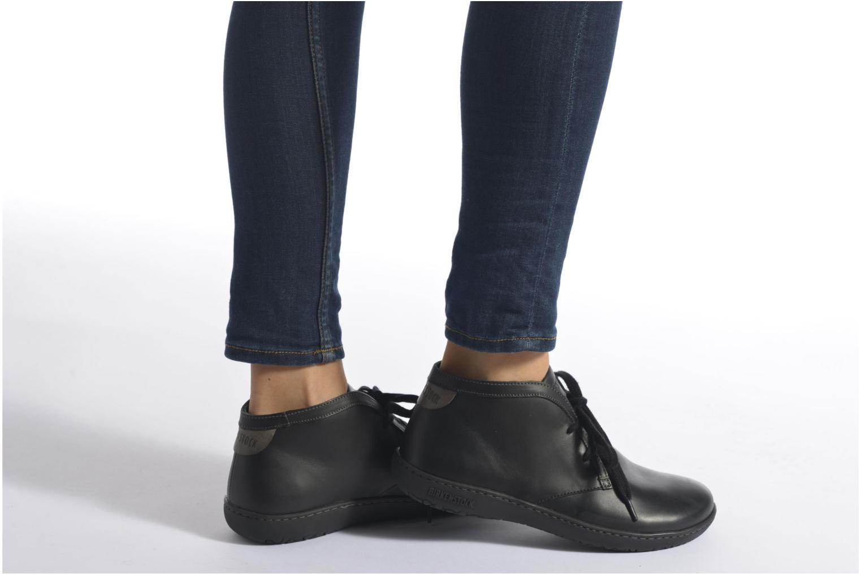 Schnürschuhe Birkenstock Scarba Ladies braun ansicht von unten / tasche getragen