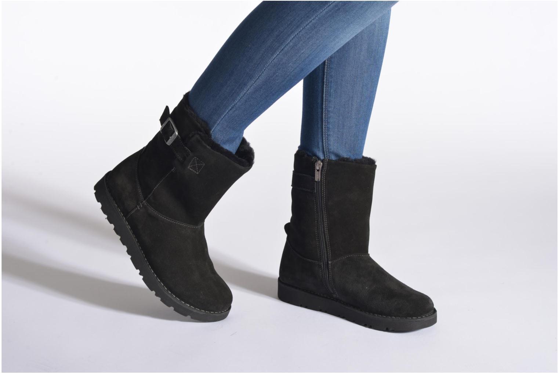 Bottines et boots Birkenstock Westford Marron vue bas / vue portée sac