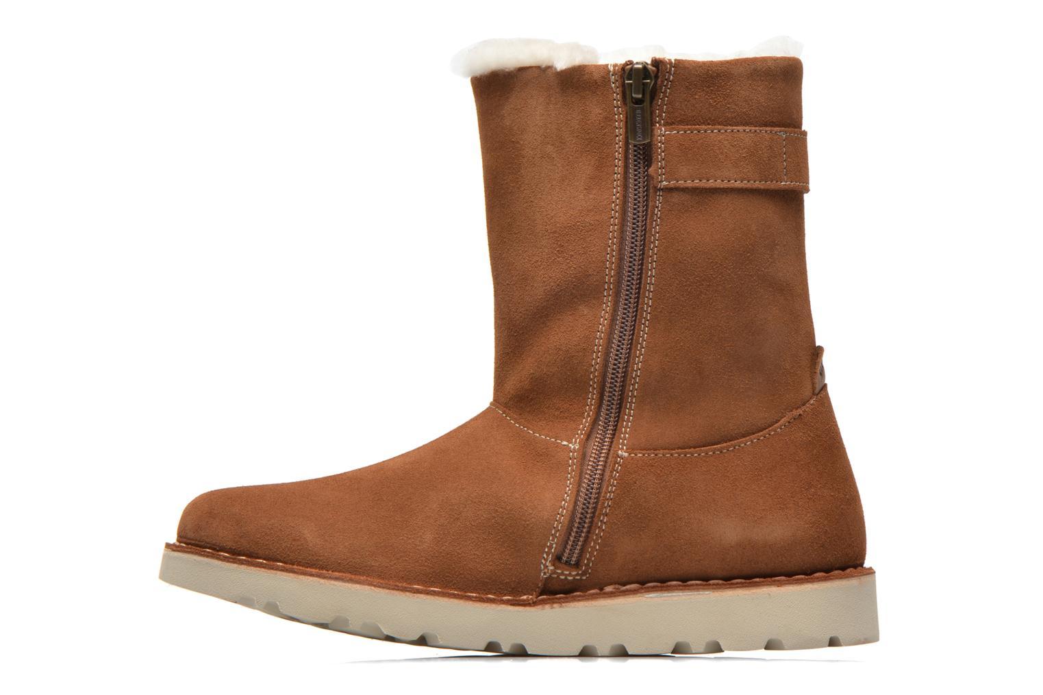 Bottines et boots Birkenstock Westford Marron vue face