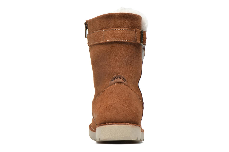 Bottines et boots Birkenstock Westford Marron vue droite