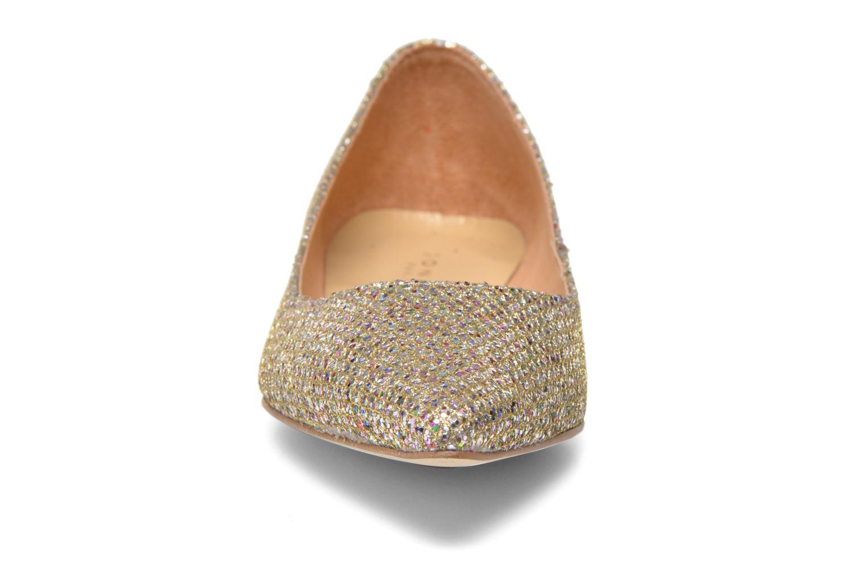 Ballerines Jonak Dinora Or et bronze vue portées chaussures