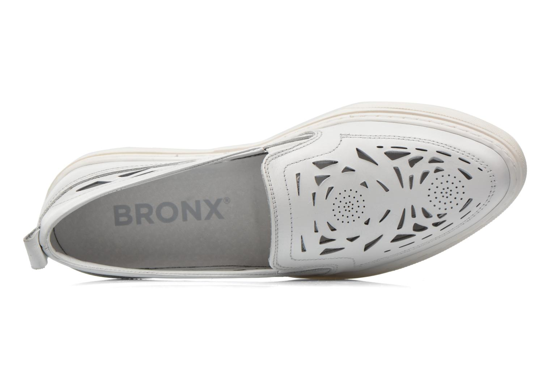 Baskets Bronx Mec Blanc vue gauche