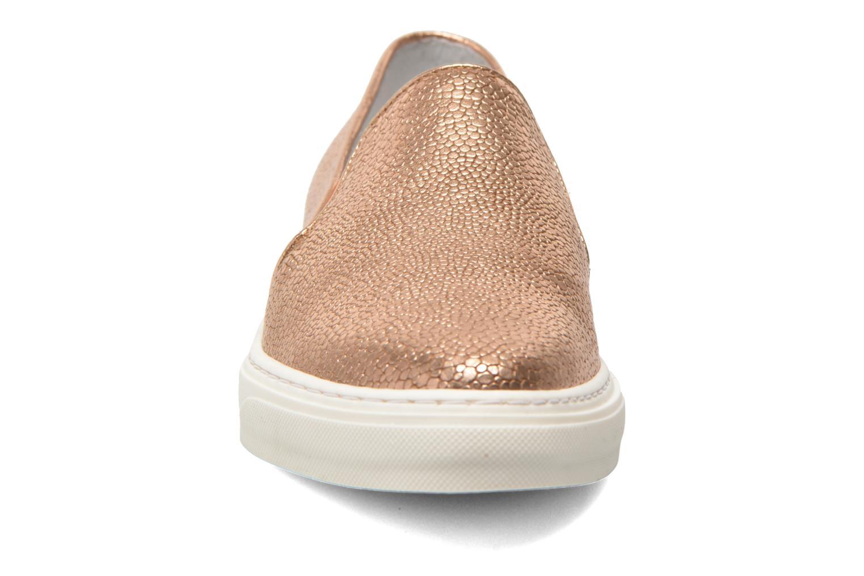 Baskets Bronx Mec 3 Rose vue portées chaussures
