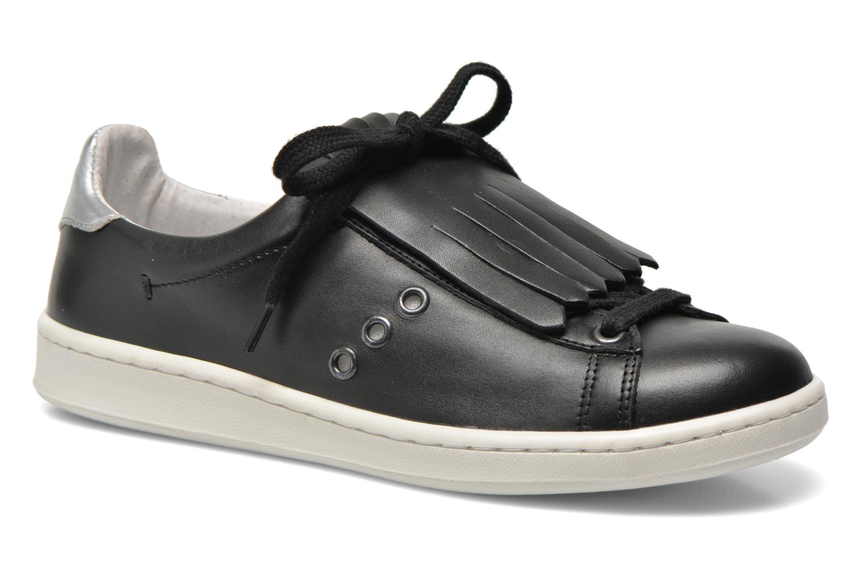 Baskets Bronx Beluga Noir vue détail/paire