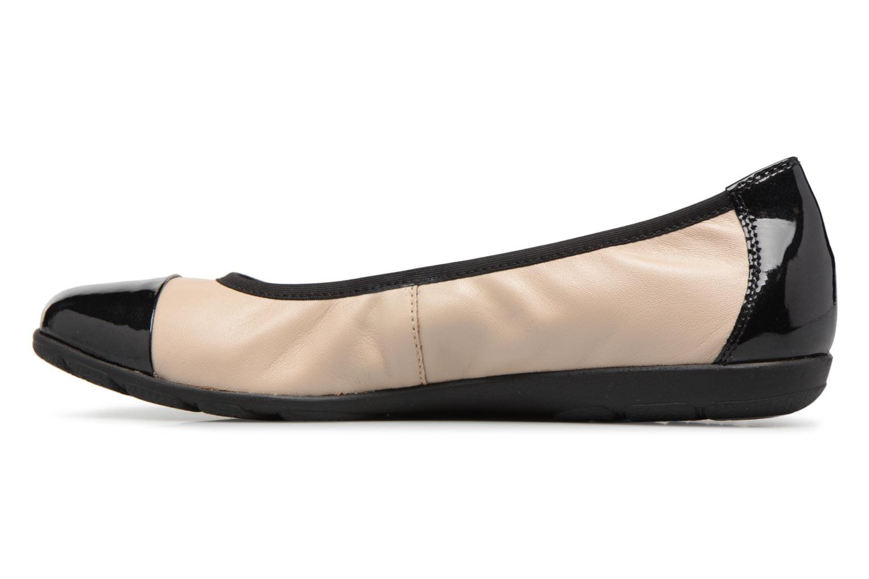 Ballerinaer Caprice Vivian Beige se forfra