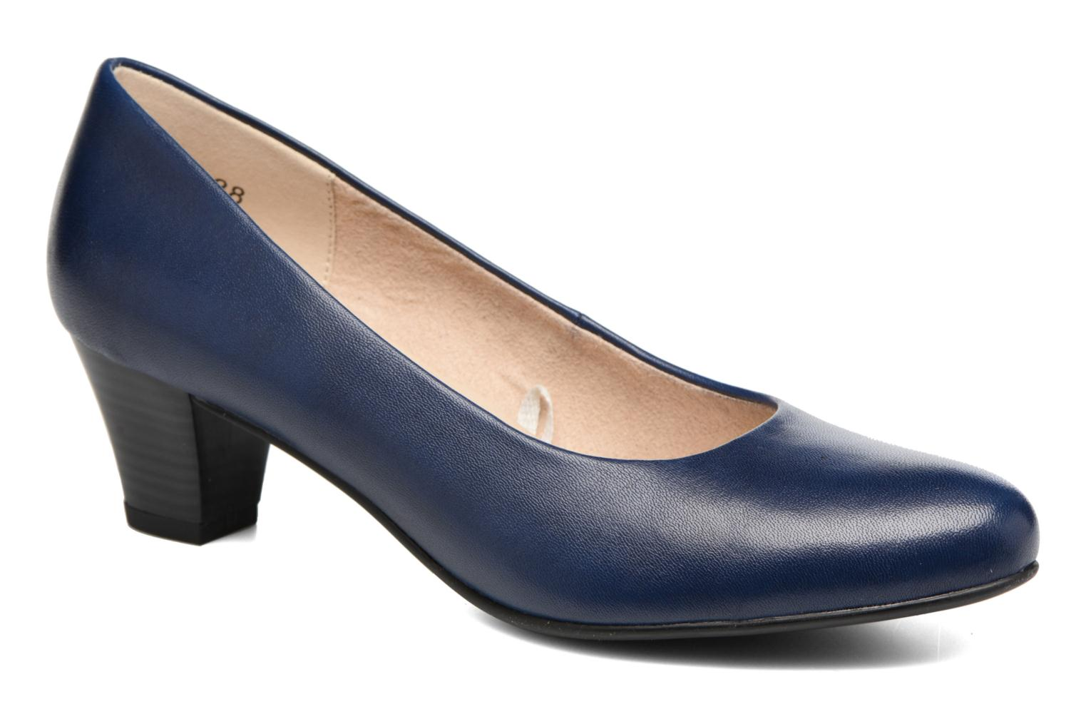 High heels Caprice Cristel Blue detailed view/ Pair view