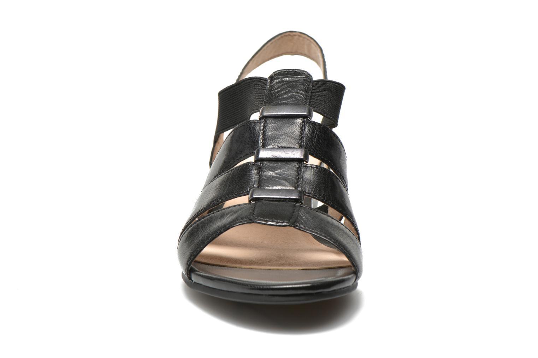 Sandales et nu-pieds Caprice Carla Noir vue portées chaussures