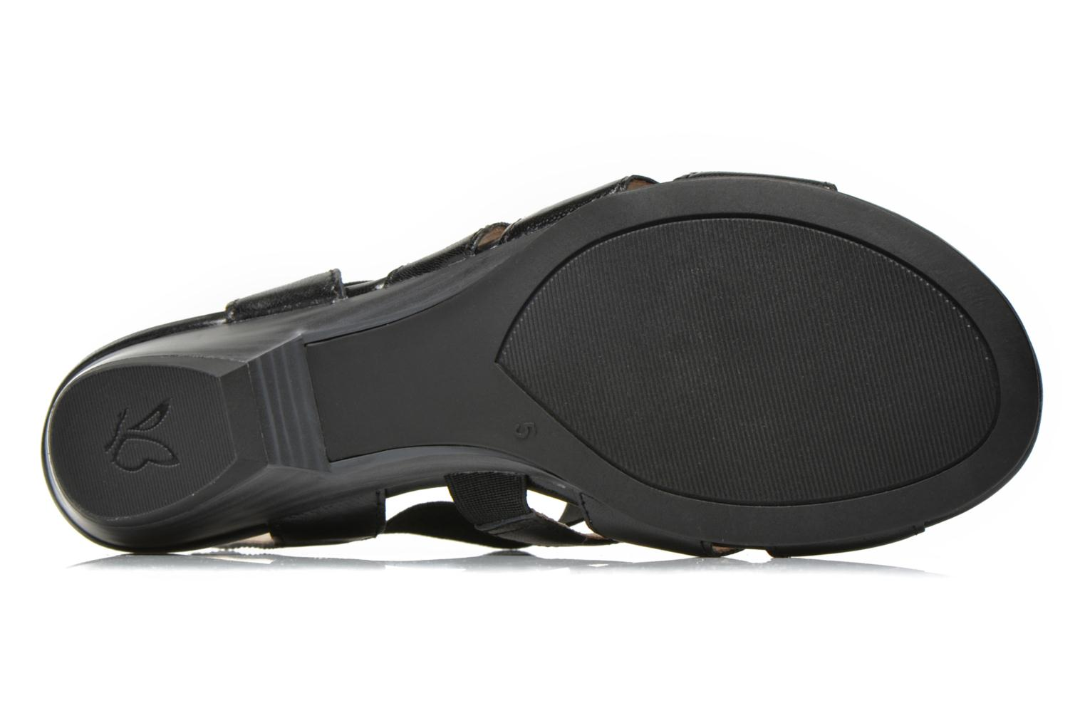 Sandals Caprice Carla Black view from above