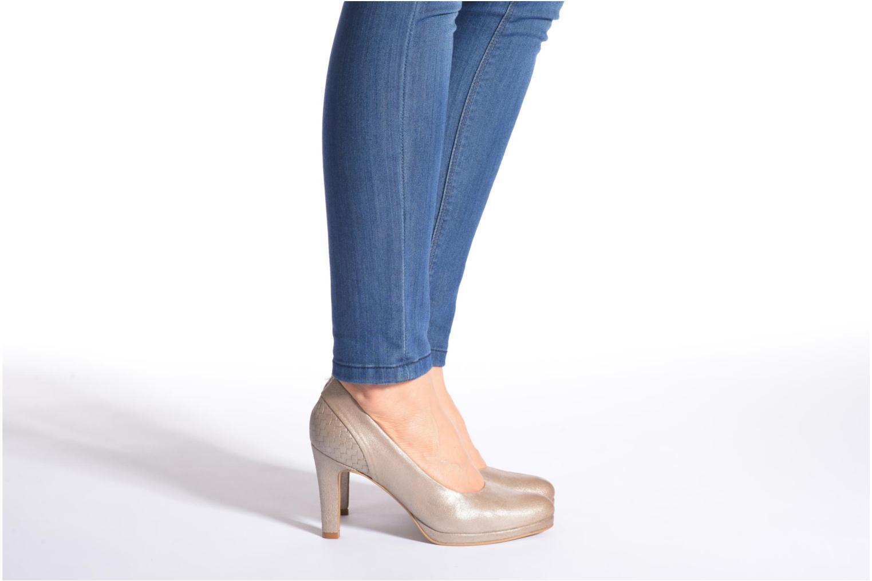 Zapatos de tacón Myma Hewin Beige vista de abajo