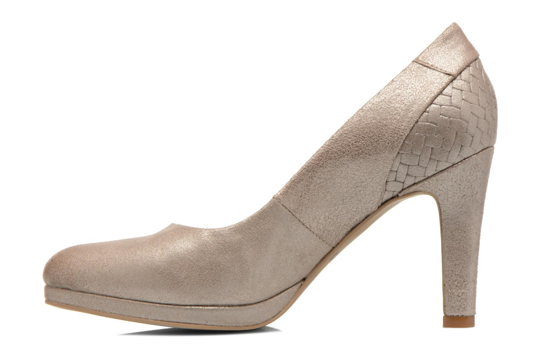 High heels Myma Hewin Beige front view