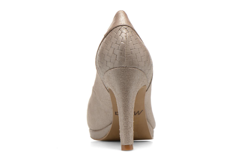 Zapatos de tacón Myma Hewin Beige vista lateral derecha