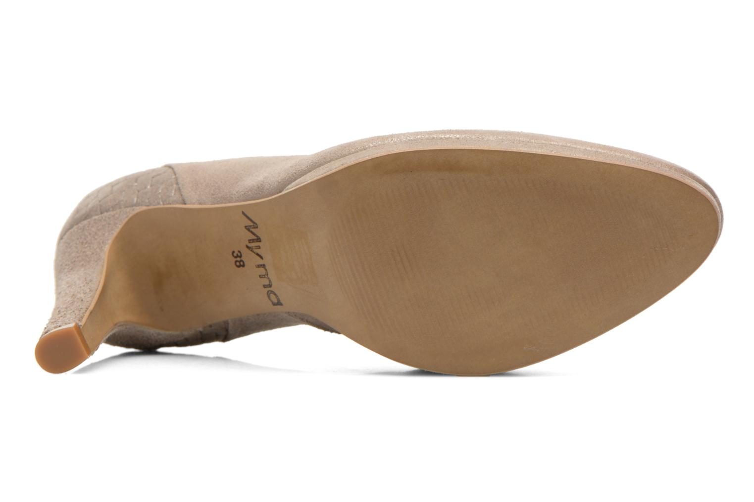 High heels Myma Hewin Beige view from above
