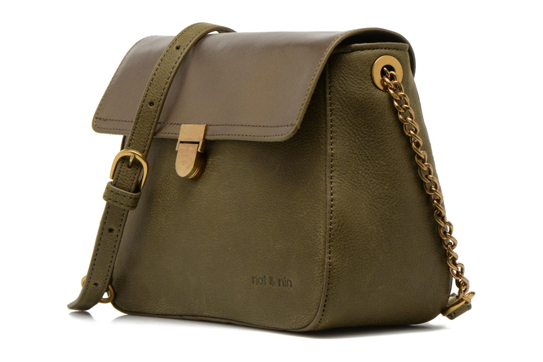 Handbags Nat & Nin Nova Green model view