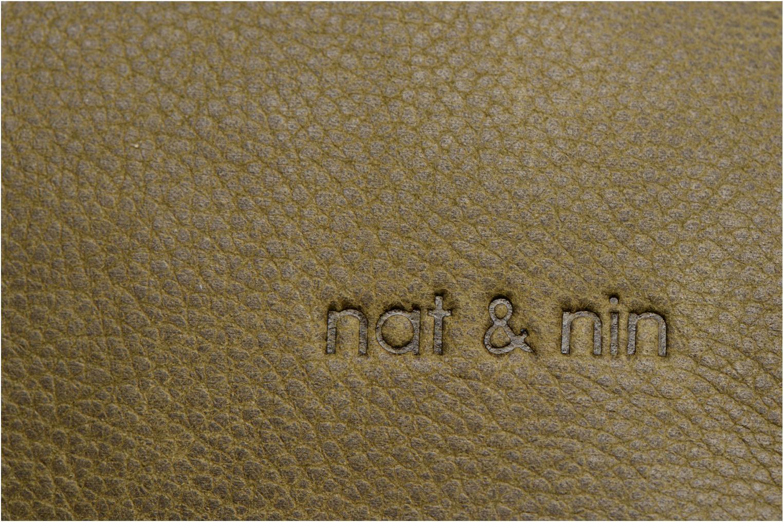 Handbags Nat & Nin Nova Green view from the left
