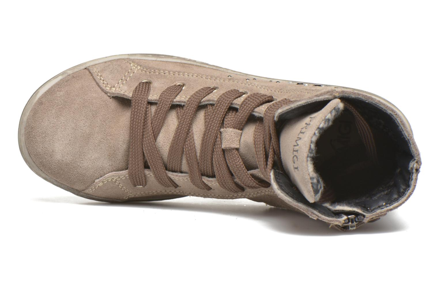 Lace-up shoes Primigi Mariana Brown view from the left