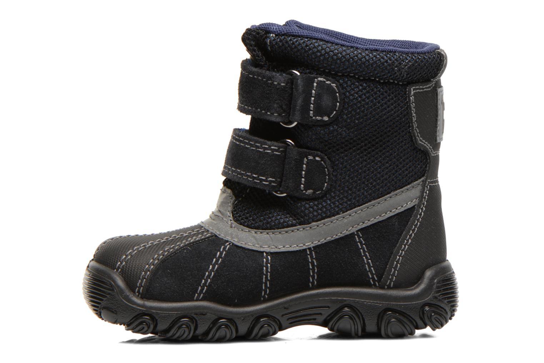 Bottines et boots Primigi Rocha-E Bleu vue face