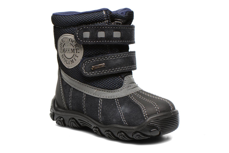 Bottines et boots Primigi Rocha-E Bleu vue détail/paire