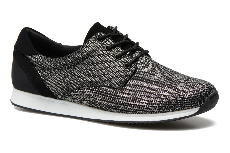 Baskets Vagabond Shoemakers Kasai 4125-183 Argent vue détail/paire