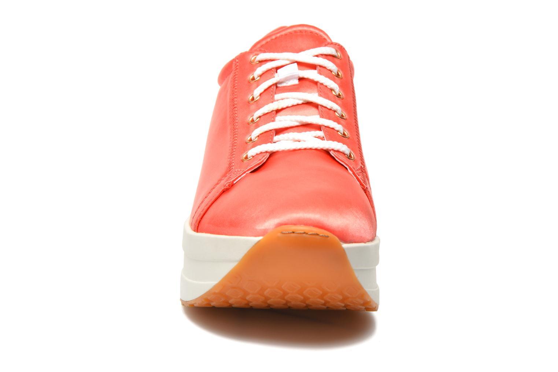 Baskets Vagabond Shoemakers Casey 4322-085 Orange vue portées chaussures