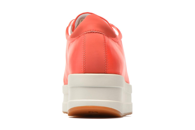 Baskets Vagabond Shoemakers Casey 4322-085 Orange vue droite