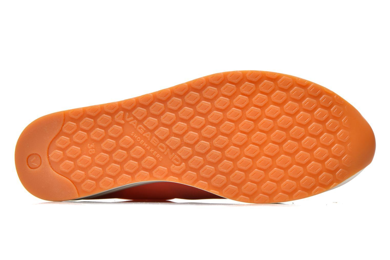 Baskets Vagabond Shoemakers Casey 4322-085 Orange vue haut