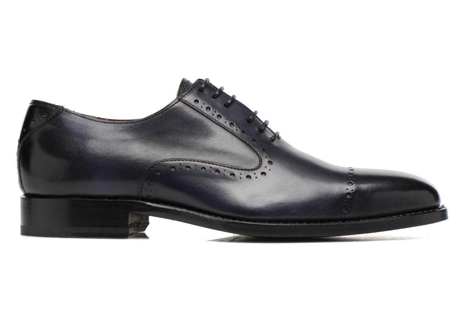Lace-up shoes Marvin&Co Luxe Wiwaldi Blue back view