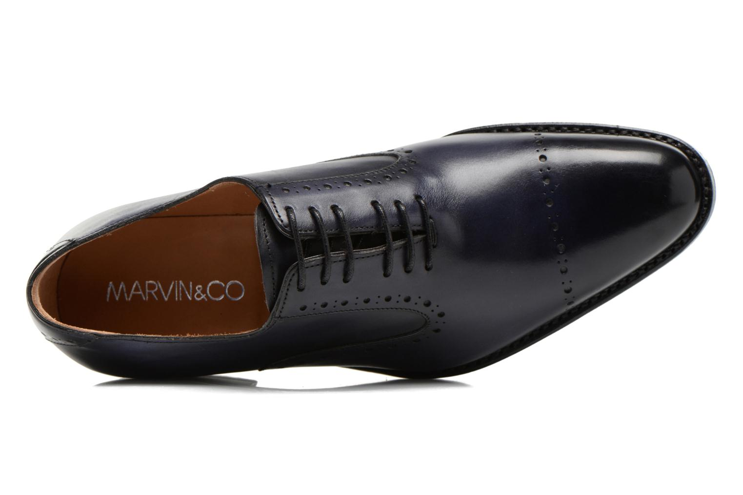 Lace-up shoes Marvin&Co Luxe Wiwaldi Blue view from the left