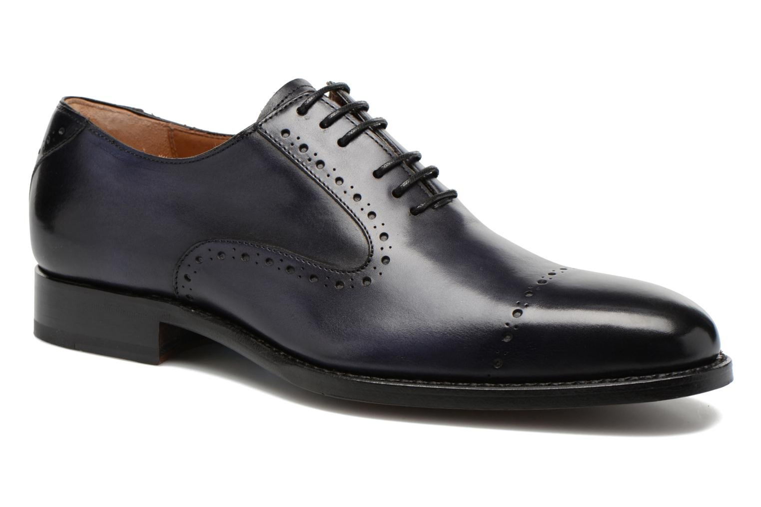 Lace-up shoes Marvin&Co Luxe Wiwaldi Blue detailed view/ Pair view