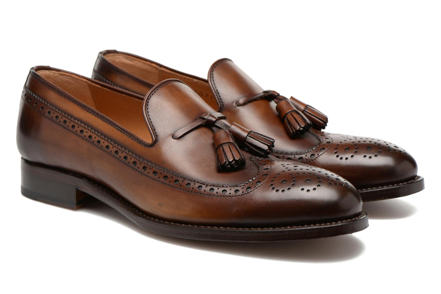 Loafers Marvin&Co Luxe Wallas Brown 3/4 view