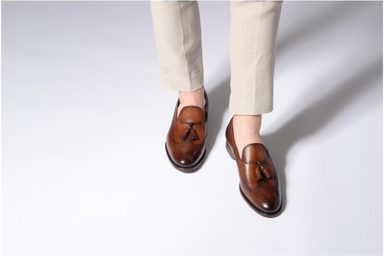Slipper Marvin&Co Luxe Wallas - Cousu Blake braun ansicht von unten / tasche getragen