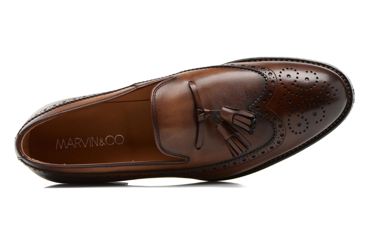 Loafers Marvin&Co Luxe Wallas Brown view from the left