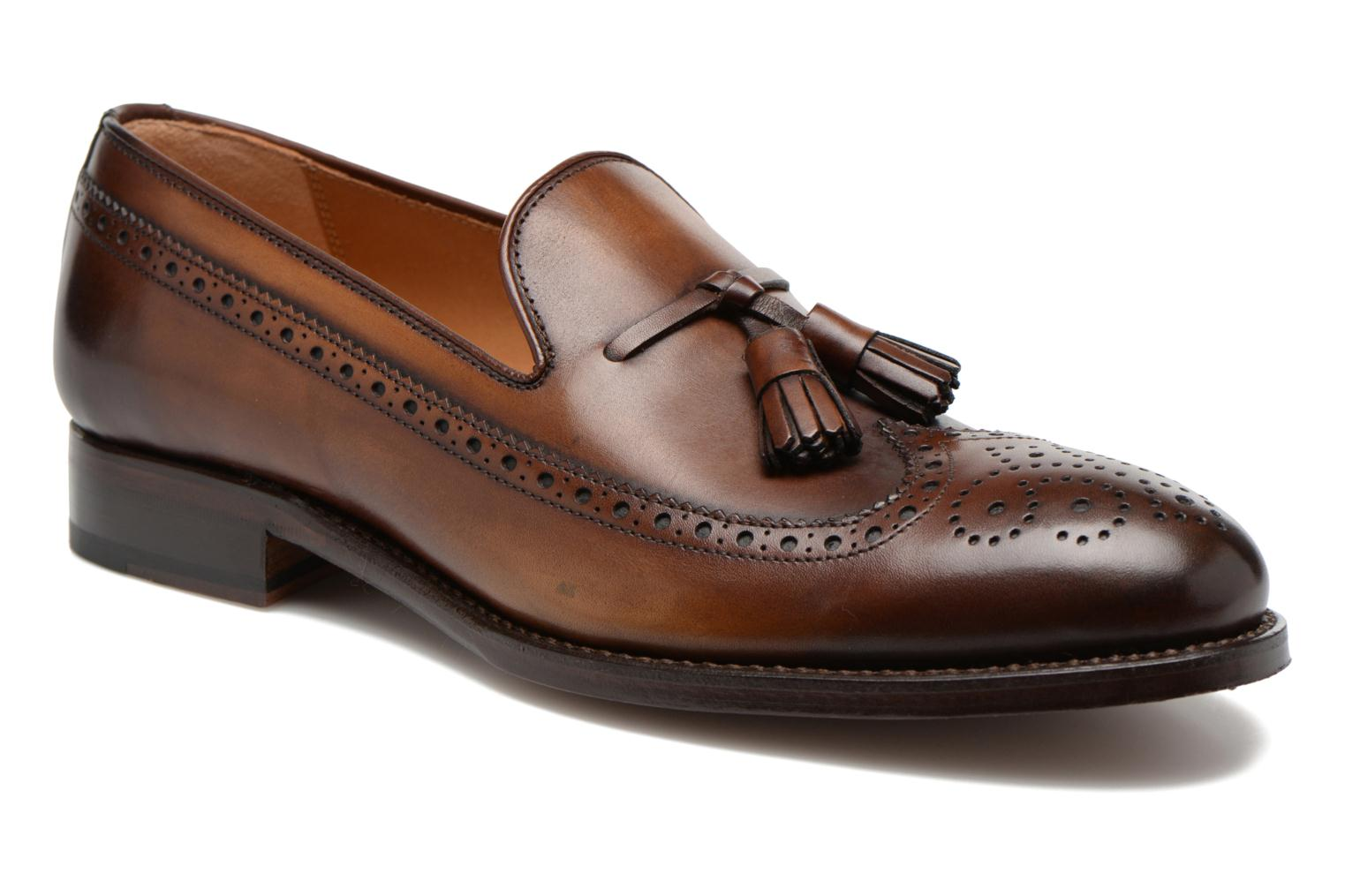 Loafers Marvin&Co Luxe Wallas Brown detailed view/ Pair view
