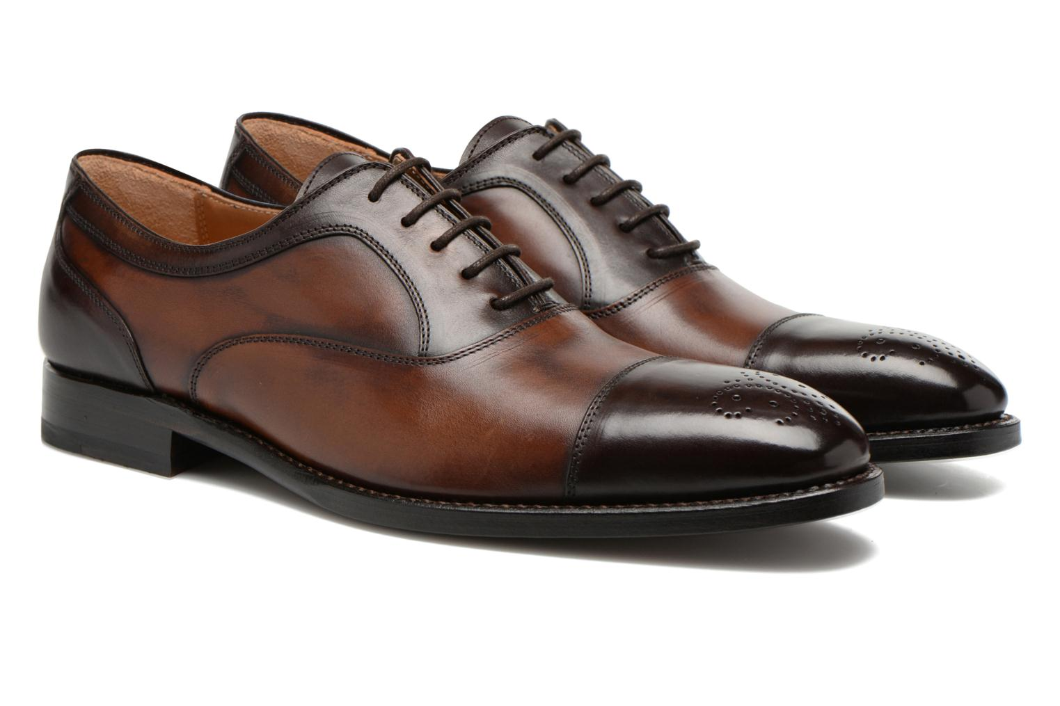 Chaussures à lacets Marvin&Co Luxe Welson - Cousu Blake Marron vue 3/4