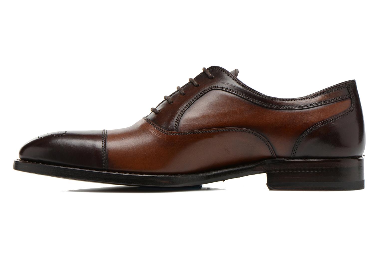 Chaussures à lacets Marvin&Co Luxe Wonried - Cousu Blake Marron vue face