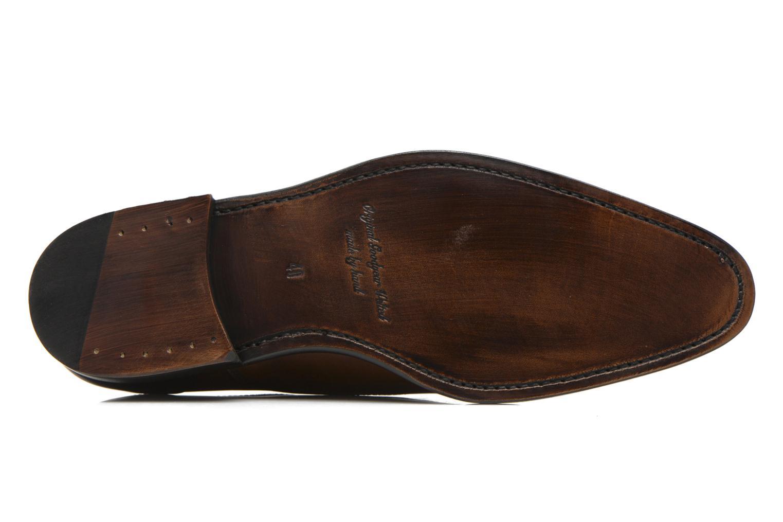 Chaussures à lacets Marvin&Co Luxe Welson Marron vue haut