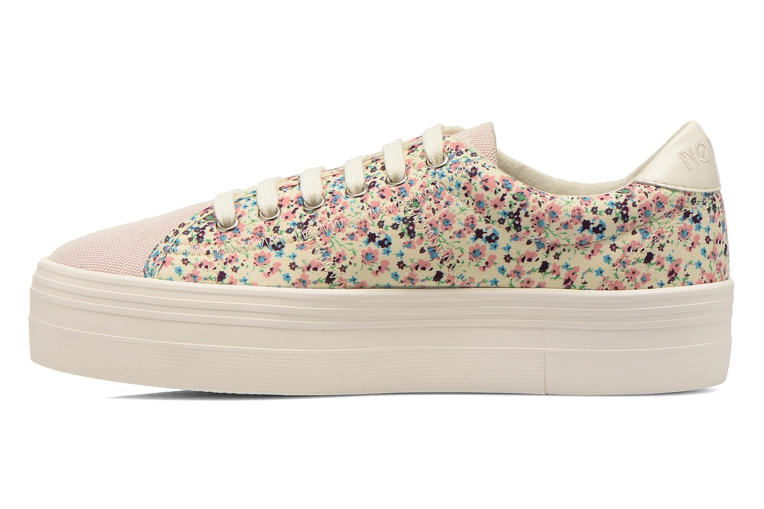 Rose/Pink fox off white No Name Plato Sneaker Meadow Palavas (Multicolore)
