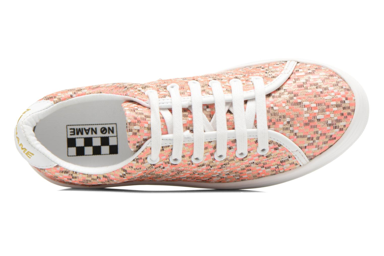 Sneaker No Name Plato Sneaker Square rosa ansicht von links