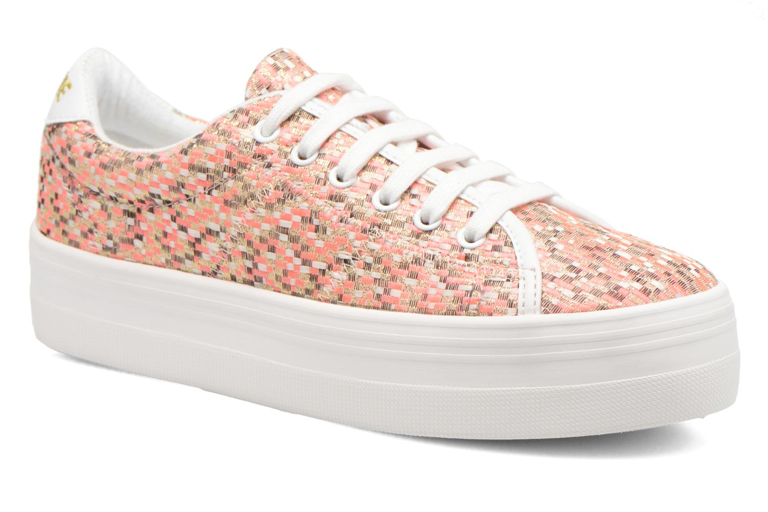 Plato Sneaker Square Pink fox White