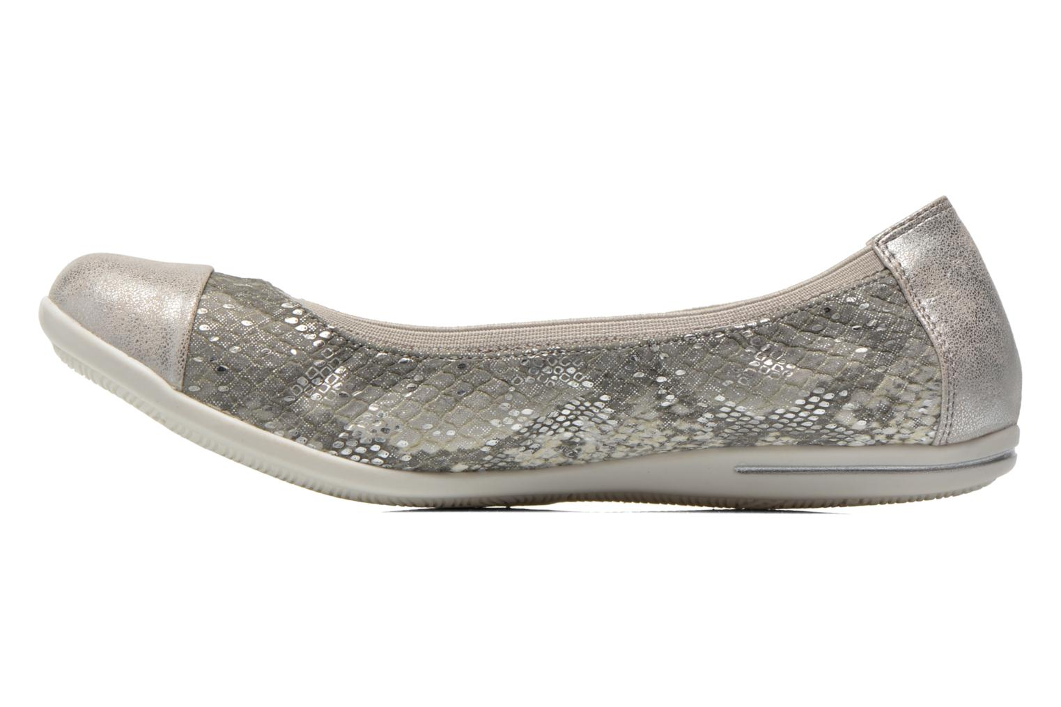 Ballet pumps Dockers Snake Grey front view