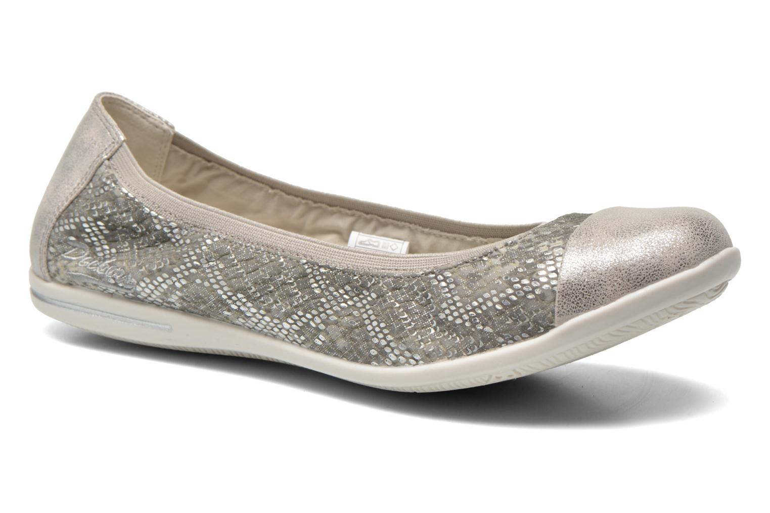 Ballet pumps Dockers Snake Grey detailed view/ Pair view