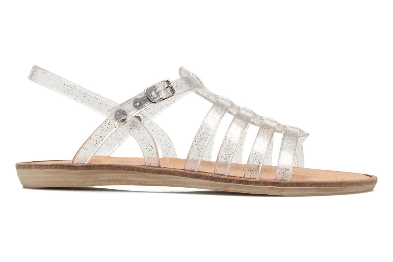 Sandales et nu-pieds Méduse Bora Argent vue derrière