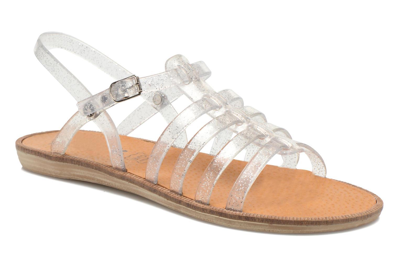 Sandales et nu-pieds Méduse Bora Argent vue détail/paire