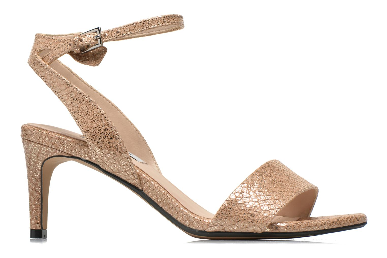 Sandales et nu-pieds Clarks Amali Jewel Or et bronze vue derrière
