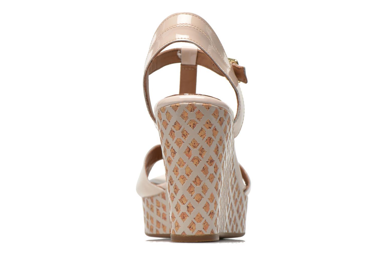 Sandales et nu-pieds Clarks Amelia Roma Rose vue droite