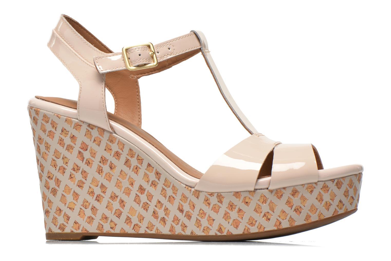 Sandales et nu-pieds Clarks Amelia Roma Rose vue derrière