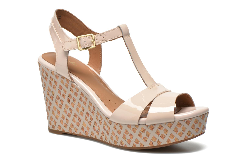 Sandales et nu-pieds Clarks Amelia Roma Rose vue détail/paire