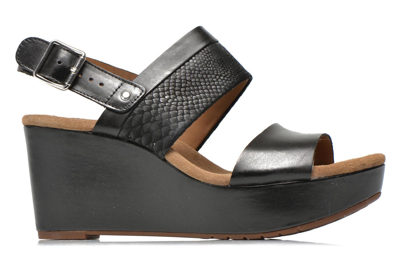 Sandali e scarpe aperte Clarks Caslynn Kat Nero immagine posteriore