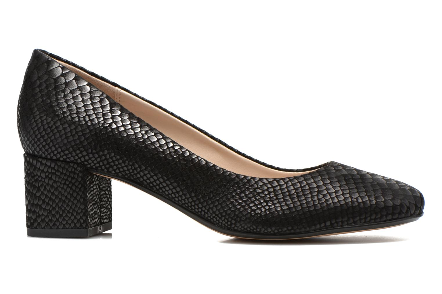High heels Clarks Chinaberry Gem Black back view