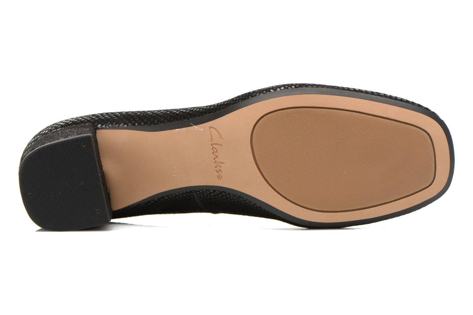 High heels Clarks Chinaberry Gem Black view from above